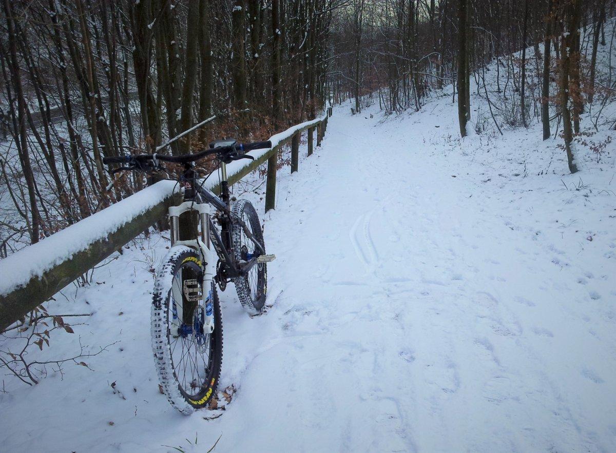 Gartenmobel Bank Metall : Pics vom Biken im Winter  Draussen!!!  Seite 27  MTBNewsde