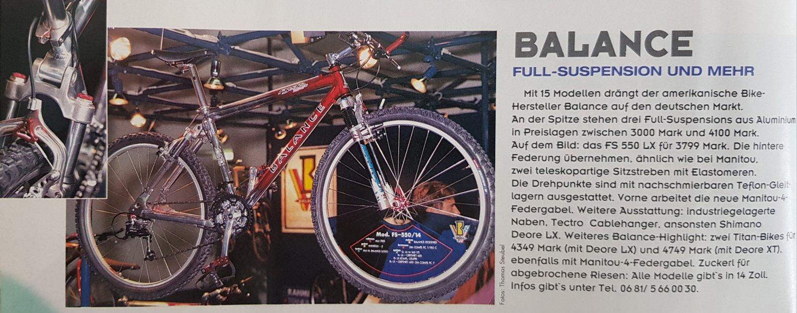 Balance Markteinfühung und Fully aus Bike 1994.jpg