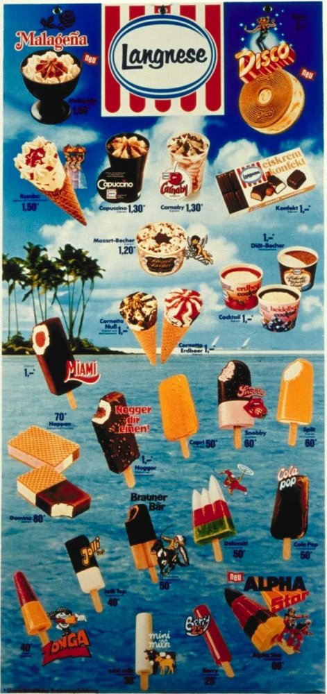 Eiskarte 1979.