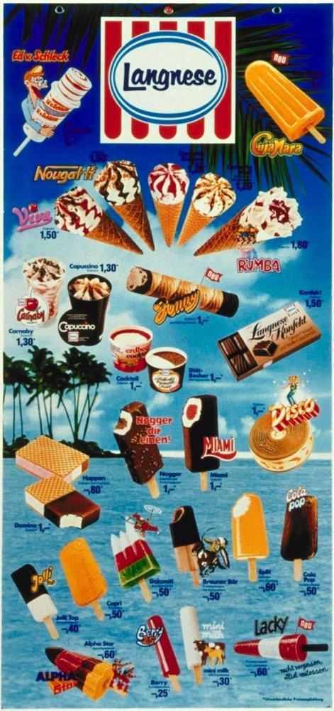 Eiskarte 1981.