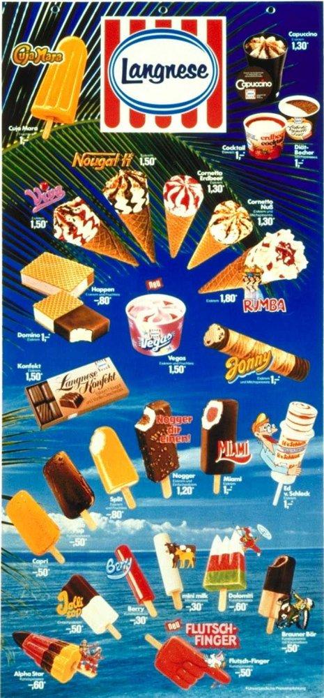 Eiskarte 1982.