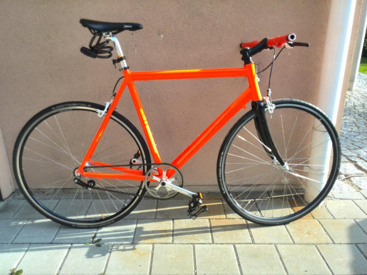 Singlespeed Bike gnstig selber bauen: So einfach gehts! - byz