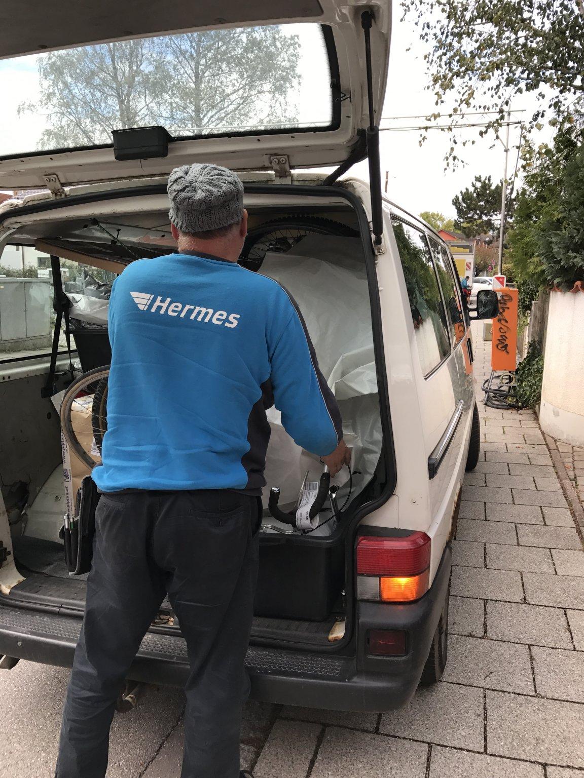 Vorsicht Beim Fahrradversand Mit Hermes Mtb Newsde
