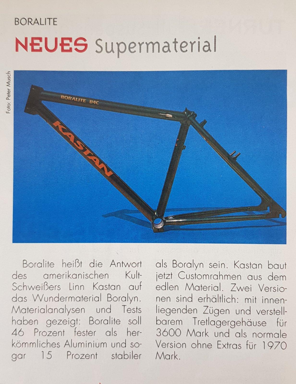 Kastan Boralite (vs Univega Boralyn) aus Bike 1994.jpg