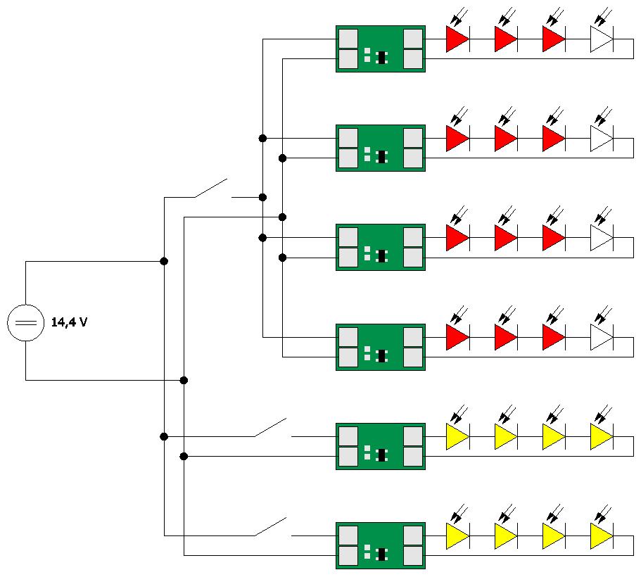 Charmant Led Rücklicht Schaltplan Bilder - Elektrische Schaltplan ...