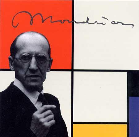 Mondrian-die-Linie.
