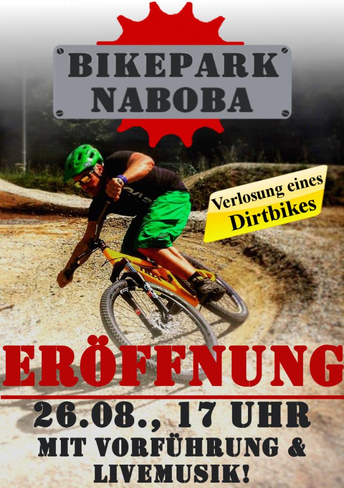 Tristan Arens Bikepark Plakat 2016.