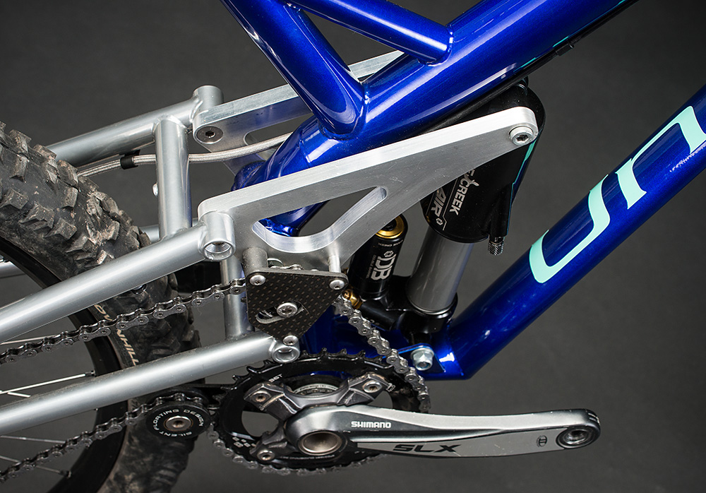Unique-handmade-cycles Downhill Steel Damper.