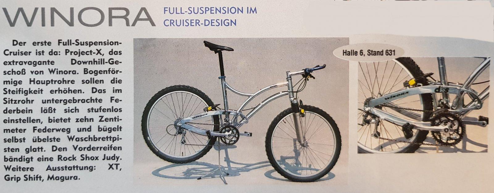 Winora Project-X Vorstellung aus Bike 1994.jpg