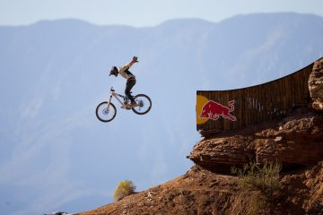 rider: Graham Agassizevent: Red Bull Rampage location: Virgin, Utah
