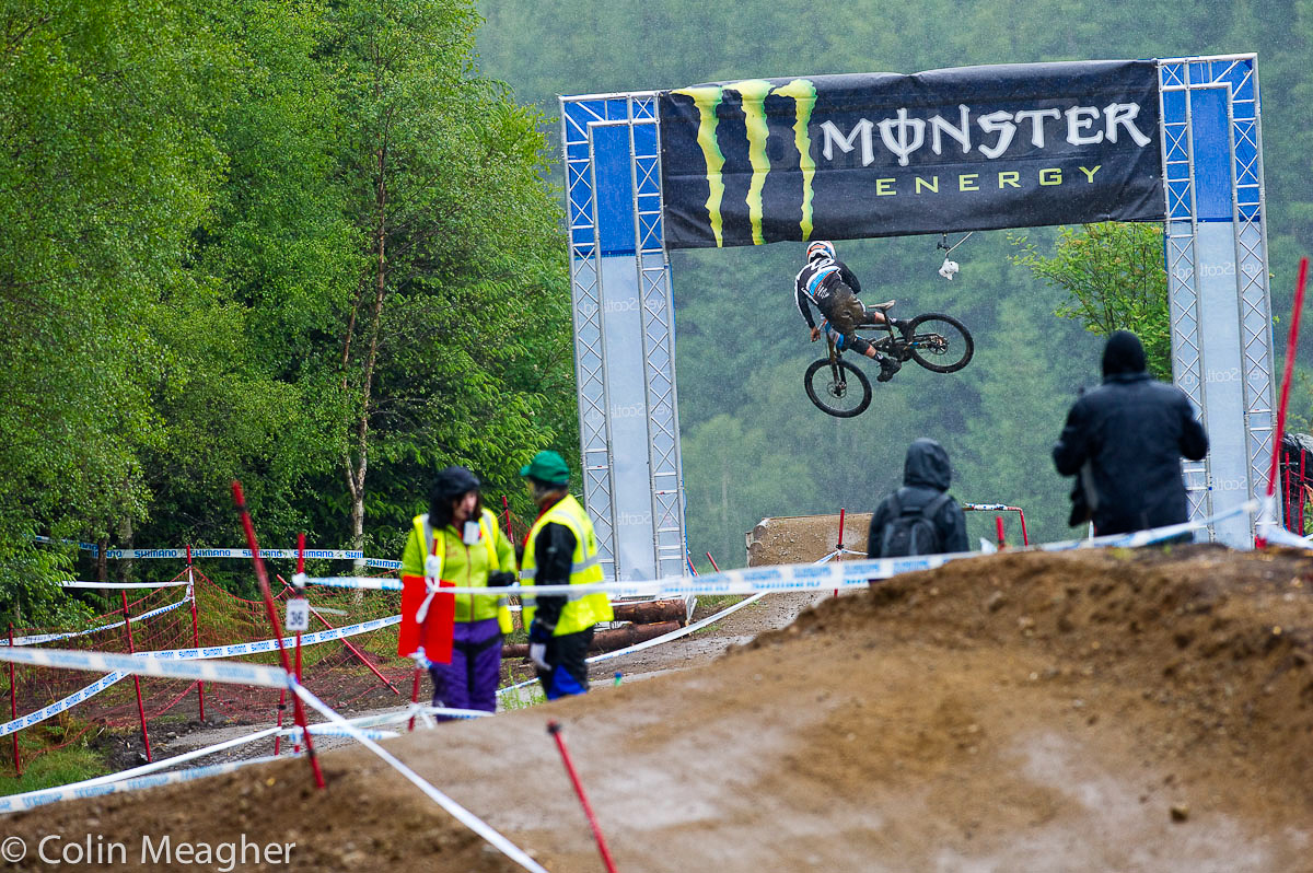 Downhill Finals Race