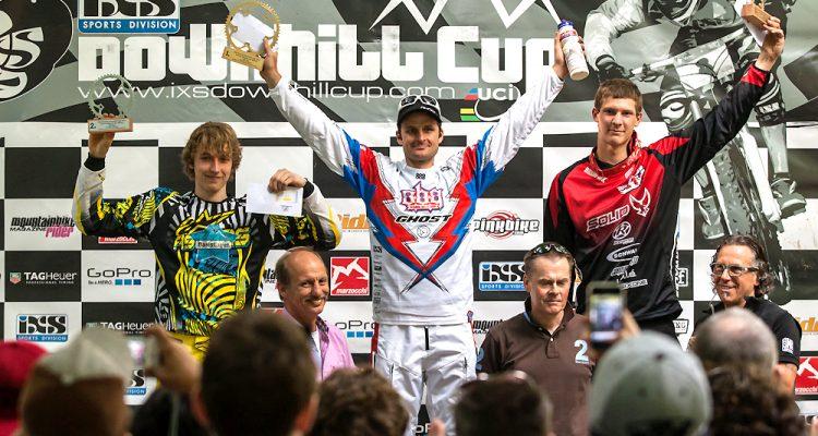 Siegerehrung Elite Men - GDC Bad Wildbad 2012
