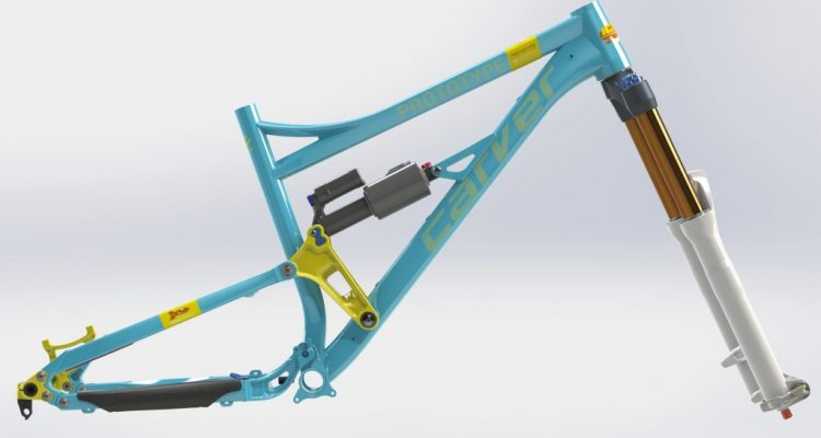 Internet Community Bike in IBC Farben
