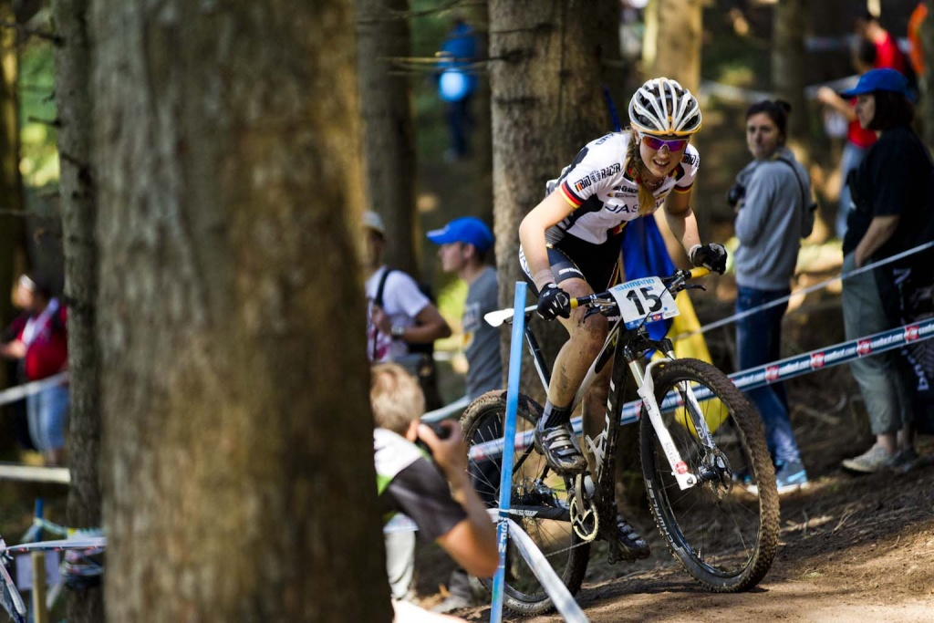 Julian Schelb zeigte ein super Rennen das leider nicht mit einer guten Plazierung belohnt wurde