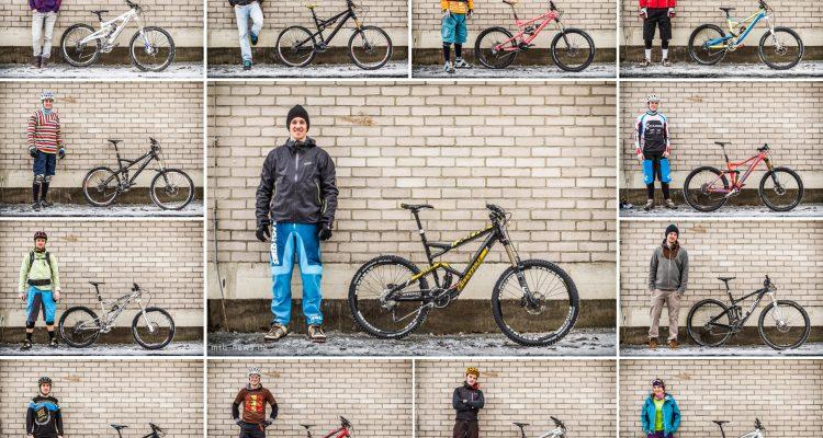 Teilnehmer_+_Bikes