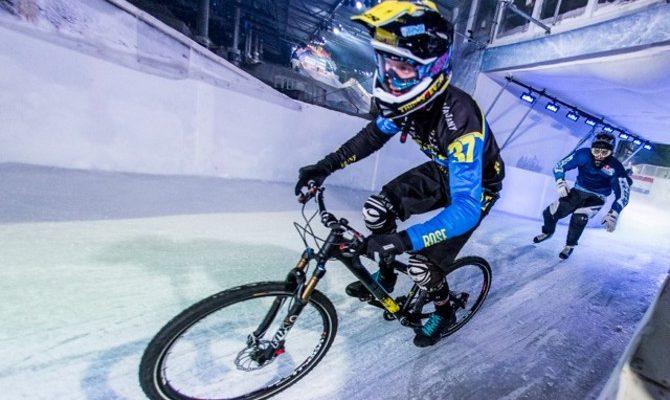 Red Bull Crashed Ice Battle: Bike gegen Schlittschuhe ...