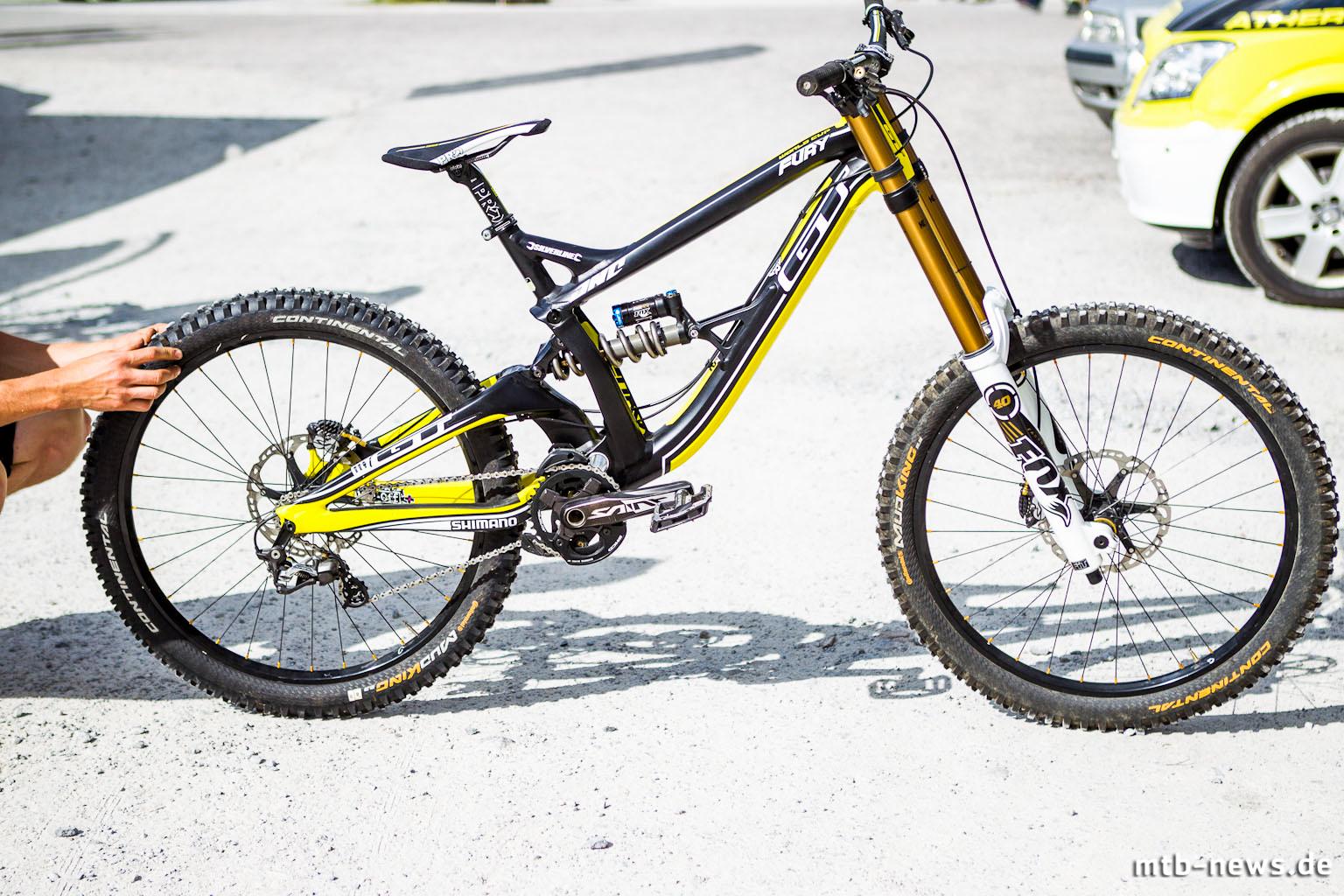 GT Fury World Cup 2014: neue Evolutionsstufe des Atherton-DH-Bikes