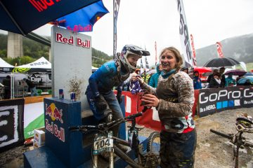 Katrin Karkhof at the Red Bull Hot Seat - GDC Steinach 2013