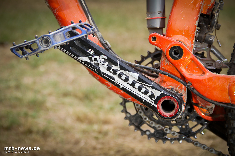 Aufmacherfoto: Rotor 3D+ MTB Kurbel im Fahrbericht / Review auf MTB-News.de