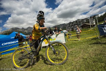 Day two of racing at the Val d'Allos 2013 EWS Race