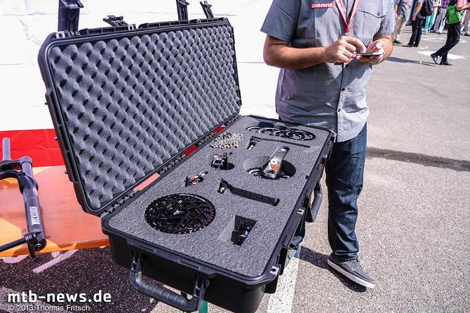 Simon Citatti mit dem X01 Koffer