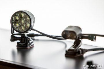 Neu für 2014: Lupine Lampen werden kompatibel mit den bekannten GoPro Haltern, die viele bereits fest mit ihrem Helm verklebt haben. Die Betty R bekommt gleichzeitig ein Leistungsupdate auf 4500 Lumen.