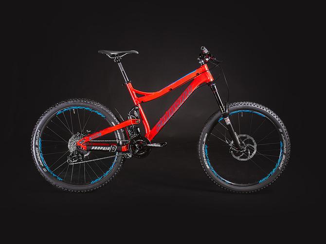 Das Propain Tyee 2014: neue Farben und geänderte Ausstattungen machen das Rad für für die neue Saison