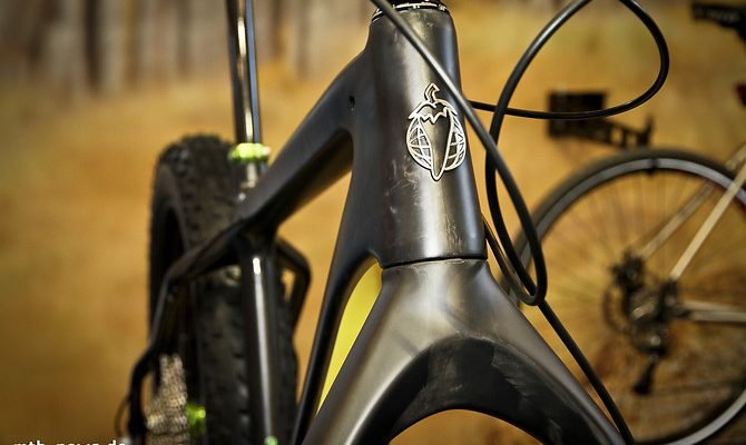Unverkennbar: Das hier ist ein Salsa. Dieses Logo steht für eine lange Tradition in der Bike-Industrie, doch das Rad darunter ist gänzlich neu.
