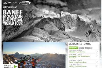 banff mountain film festival 2014