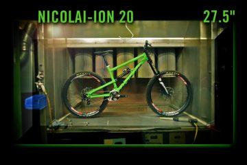 Jungfernfahrt: Vollgas mit dem Nicolai ION 20 mit Charger-Boxxer in 650b [Video]