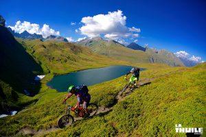 Anka und Sven Martin - Unterwegs in La Thuile 01