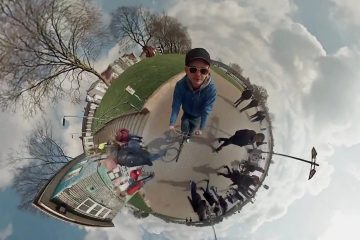 Völlig verrückte Perspektive: 360°-Rundumblick mit 6 GoPros [Video]