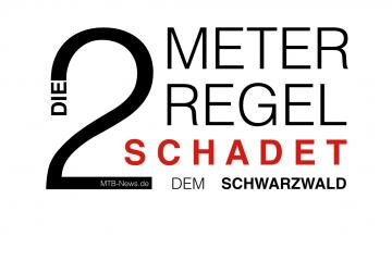Die 2-Meter-Regel schadet dem Schwarzwald