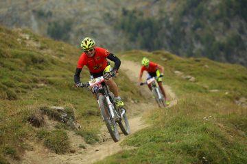 PERSKINDOL SWISS EPIC_STAGE2_LEUKERBAD_Winnerteam_Format Swiss Epic Cat Mixed_Team 615_BiX-Wheeler on Flowtrails_credit_Sportograf