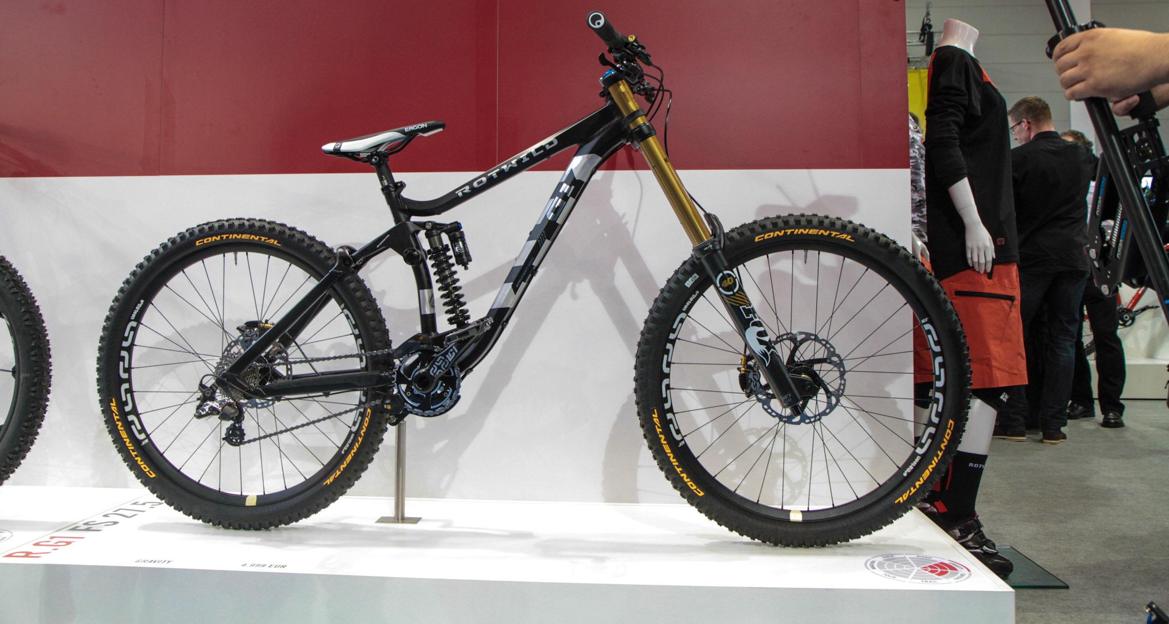 eurobike rotwild 2015 neues dh bike g1 und e bikes mit. Black Bedroom Furniture Sets. Home Design Ideas