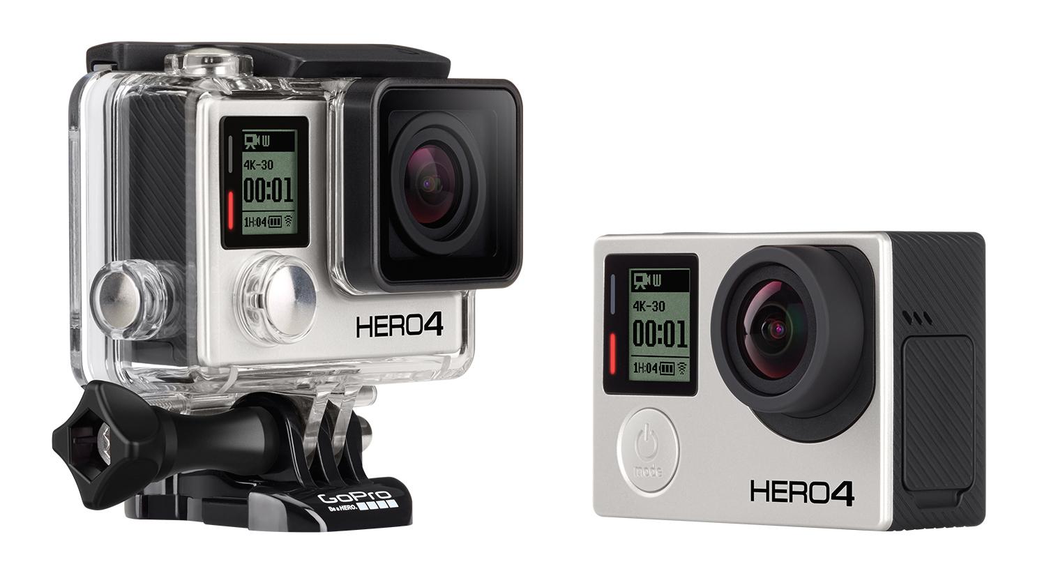 GoPro: Software-Update für Hero 4 Black und Hero 4 Silver