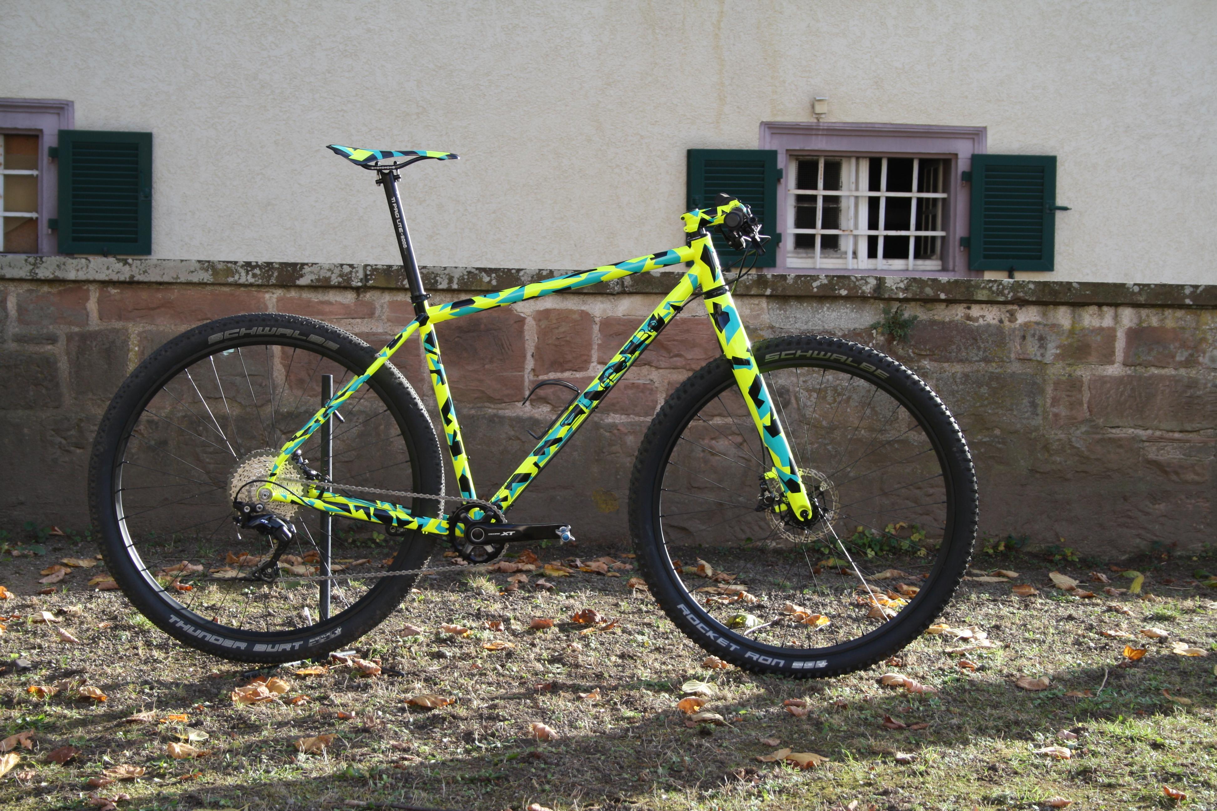 Bike Der Woche Singlebe Camouflage Von Ibc User Fomeracer