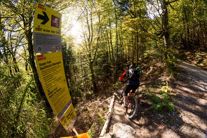 Arzl - Rumeralm - Arzl -- Single Trail - BERGFEX