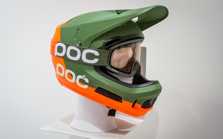 Eurobike 2017 Poc Coron Air Spin Fullface Helm Amp Ora