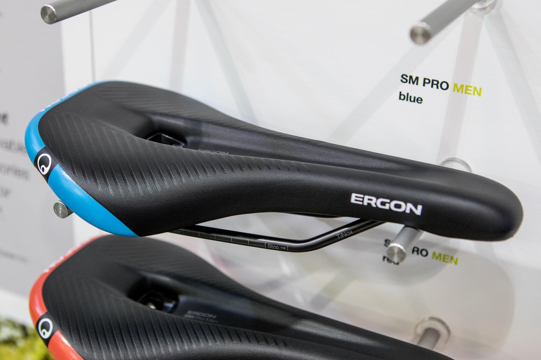 Ergon SM E-Mountain Sport ergonomischer E-Bike Fahrrad Sattel schwarz