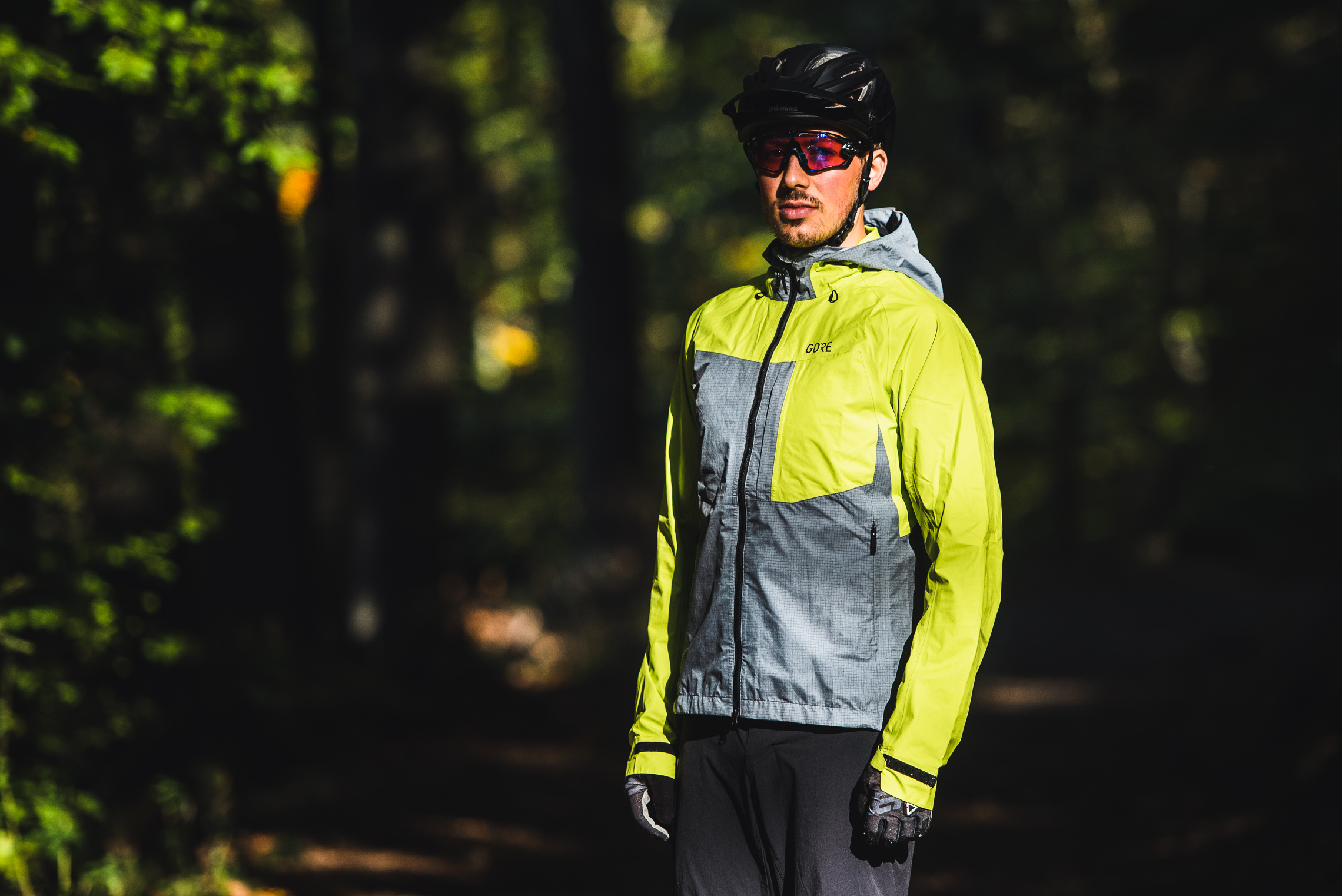 platzangst Herren Regenjacke DFL Jacket II schwarz MTB Mountainbike Fahrrad