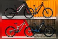 Vier Downhill-Bikes im Vergleichstest: Need for Speed!